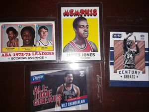 1971 Julius Erving 8 card lot for Sale in Greensboro, NC