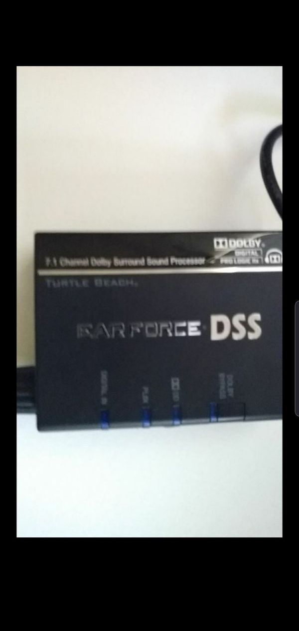 Ear Force DSS 7.1Channel Dobly For Gaming System