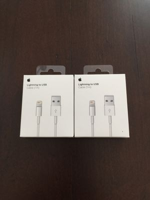 """2X Original OEM Cable Charger for iPhone 42"""" Inches for Sale in Port St. Lucie, FL"""