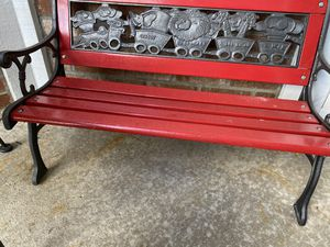 Cast Iron Bench Kids Toddler Outdoor Mini Patio Bench for Sale in Glendale Heights, IL
