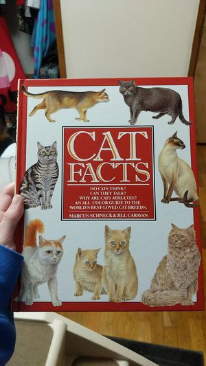 Cat Facts Book for Sale in Puyallup, WA
