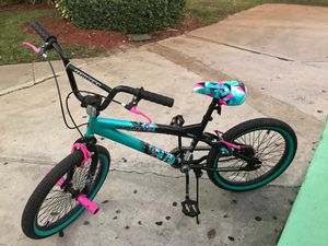 "Kent 20"" Tempest Girl's Bike, Black/Aqua for Sale in Lauderhill, FL"