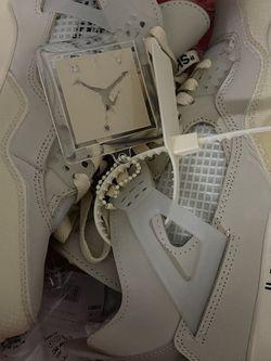Brand New Off White Jordan 4s Mens 7 = Womens 8.5 NO TRADES No meet ups for Sale in Murfreesboro,  TN