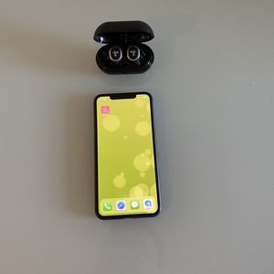 iPhone XS Max 256GB, JayBird Run Wireless Headphones for Sale in San Jose, CA