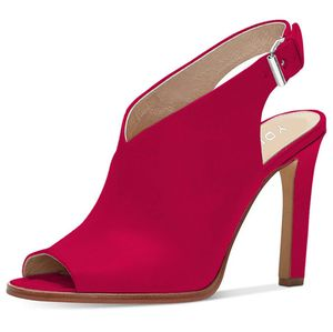 YDN Women Peep Toe High Heel Sandals Ankle Strap for Sale in Temple City, CA