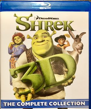 NEW SHREK COLLECTION (4 Blu-Ray & 3D Discs) for Sale in Hermitage, TN