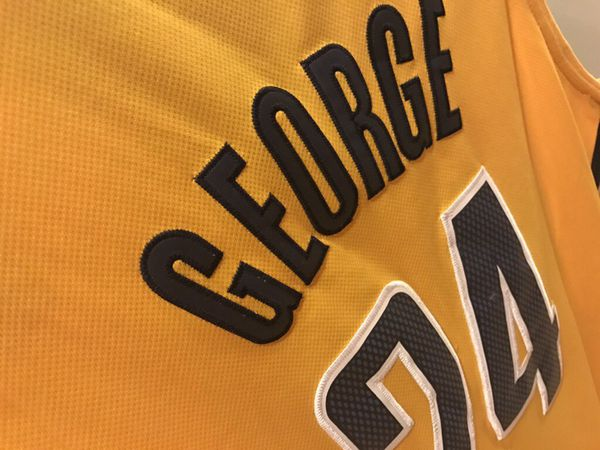 TAKING BEST OFFER!!! Paul George Indiana Pacers Authentic adidas Jersey