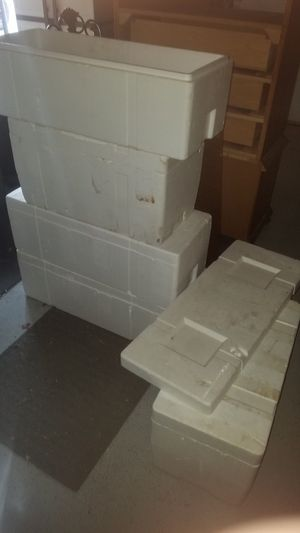 Styrofoam coolers for Sale in Stanwood, WA