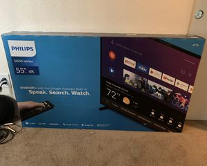 Brand new 55 inch Philips TV for sale for Sale in Alameda, CA