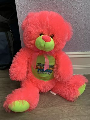 Stuffed animal in perfect condition for Sale in Parkland, FL
