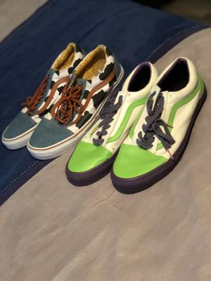 Woody and Buzz Lightyear Vans Size 10.5 for Sale in Baton Rouge, LA
