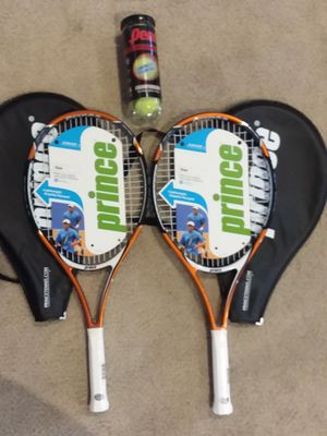 2 Prince Jr tennis rackets for Sale in Riverside, CA