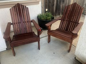 Adirondack chairs Solid for Sale in Salinas, CA