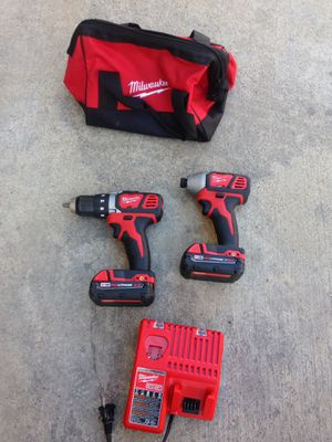 Milwaukee 18v drill set for Sale in Los Angeles, CA