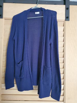 Large blue knit cardigan for Sale in Las Vegas, NV