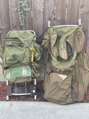 Two travel/ hiking backpack 2 for $50 for Sale in San Marino, CA
