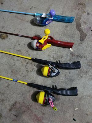 Fishing rod set of 4 for Sale in Denver, CO