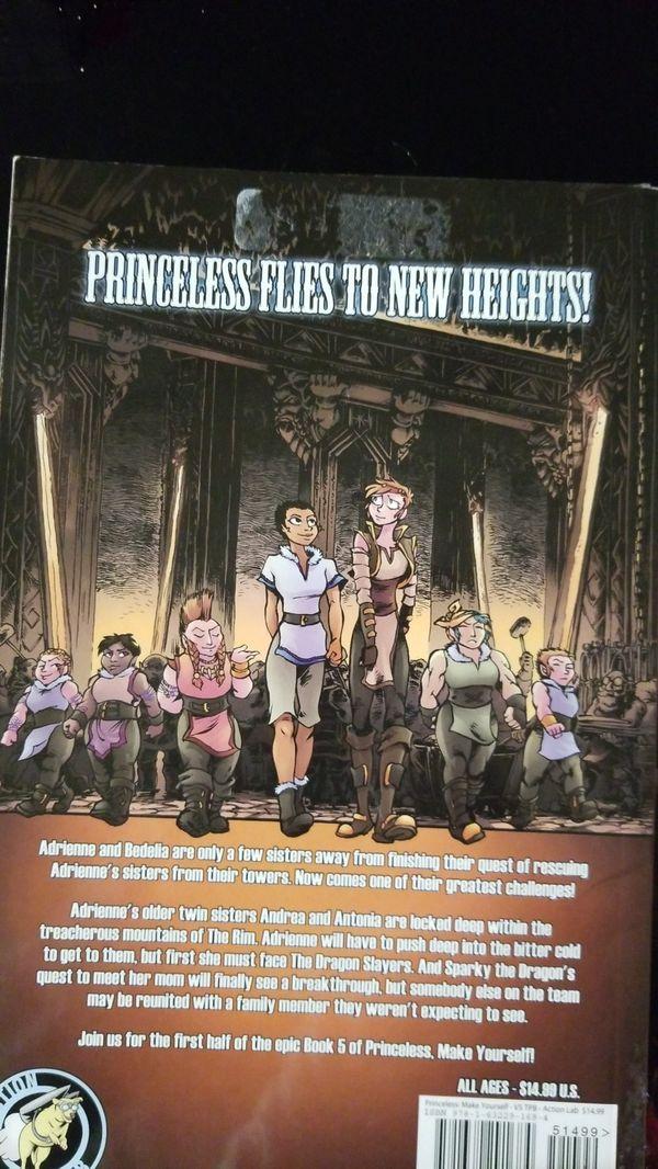 Princeless book 5