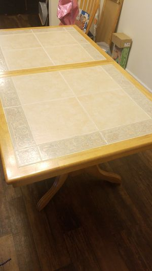 Solid Wooden table for Sale in Greensboro, NC