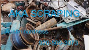 Free scrap metal pick up for Sale in Wild Rose, WI