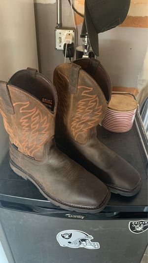 Ariat work boots for Sale in Riverside, CA