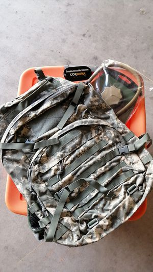 Army pattern backpack with hydration bladder for Sale in Las Vegas, NV