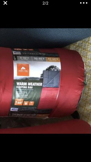 Two red sleeping bags ! Used 1 for Sale in New York, NY