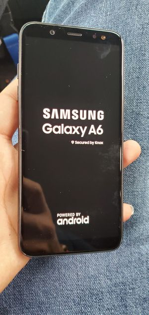 FACTORY UNLOCKED SAMSUNG GALAXY A6 for Sale in Fontana, CA