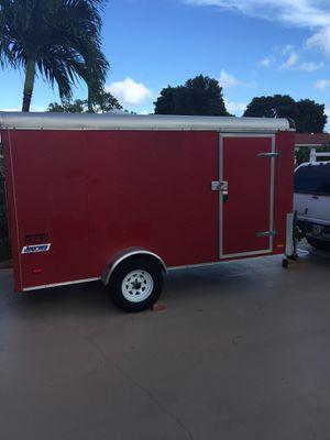 Enclosed cargo trailer 6.5 x 12 American Pace Journey (2017) READ BELOW for Sale in Deerfield Beach, FL
