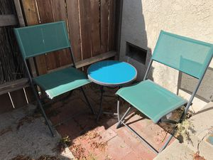 Patio chairs set for Sale in Torrance, CA