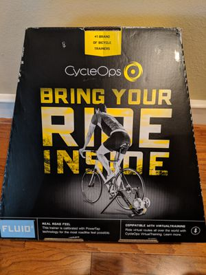 CycleOps Fluid 2 Trainer Set for Sale in Dallas, TX