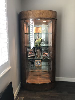 Drexel Heritage curio or china cabinets or bookshelves!!! for Sale in Denver, CO
