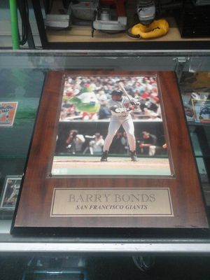 Barry Bonds signed autographed picture for Sale in Charlotte, NC