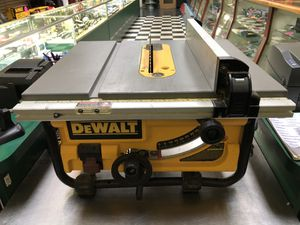 "Dewalt DW745 Compact Jobsite 10"" Table Saw for Sale in Margate, FL"