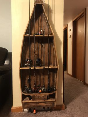 Fishing rod stand rods not included for Sale in Fresno, CA