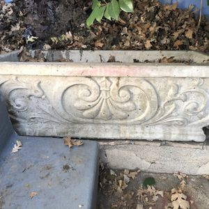 Beautiful Outdoor Cement Boxed Planters for Sale in Los Angeles, CA