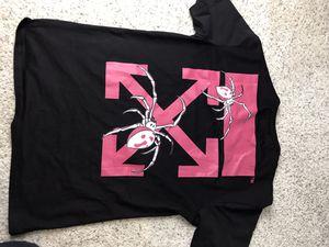 Off white spider shirt sz L men's for Sale in Denver, CO