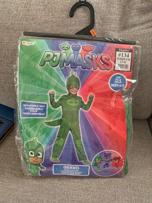 Pj Masks Gekko costume M(3t-4t) for Sale in Los Angeles, CA