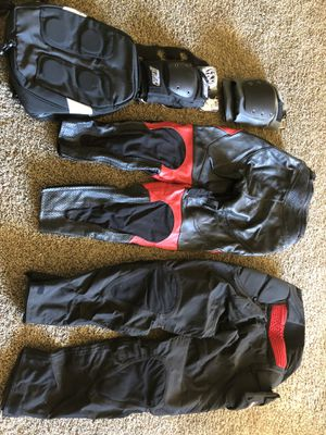 Honda Men's Leather Motorcycle Riding Gear for Sale in Hayward, CA