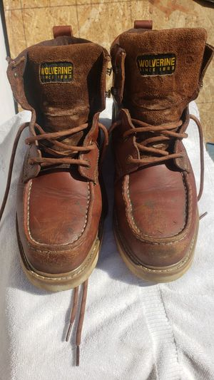 Wolverine steel toe work boots for Sale in San Diego, CA