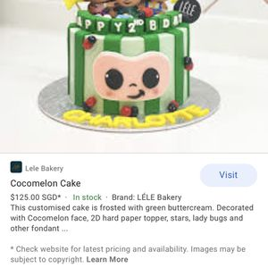 Not Selling Can Anyone Make Me A Cocomelon Cake For Friday ? for Sale in Hemet, CA