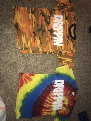2 Clean Drippin Shirts for Sale in Las Vegas, NV
