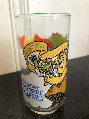 Muppets collectible glass from McDonald's for Sale in Peoria, IL