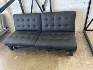 Leather Futon for Sale in Dallas, TX