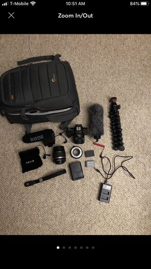 Canon Eos M50 Bundle for Sale in Buffalo, NY