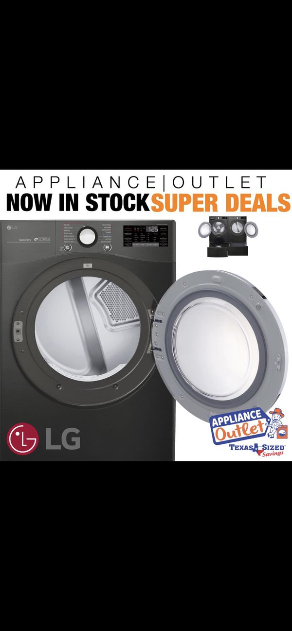 BRAND NEW APPLIANCES AT A DISCOUNTED PRICES