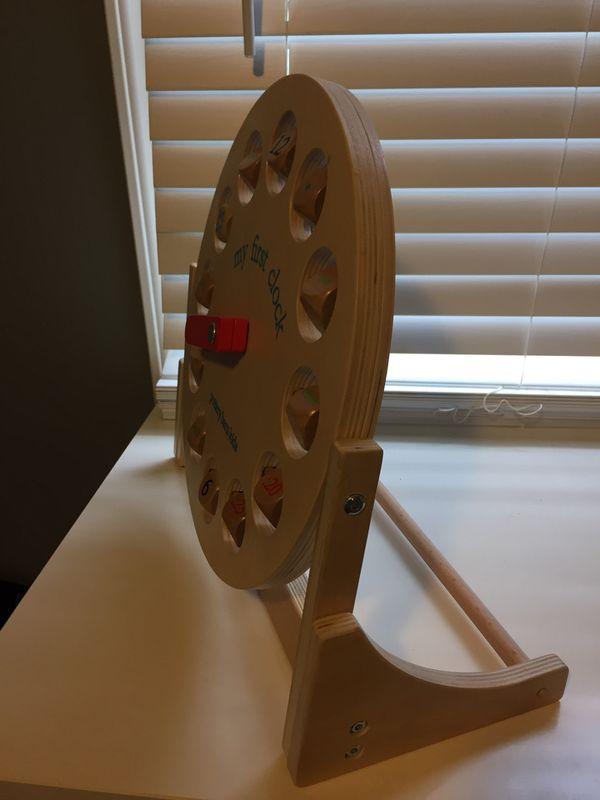 Toy clock - Pottery Barn Kids