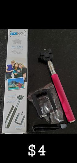 Brand New in box Sidekick Selfie Stick. Pink. for Sale in Mesa,  AZ