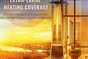 48,000 BTU Aometer Pyramid Flame Patio Heater for Sale in Brea,  CA