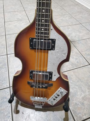 Bass guitar and amp for Sale in Houston, TX